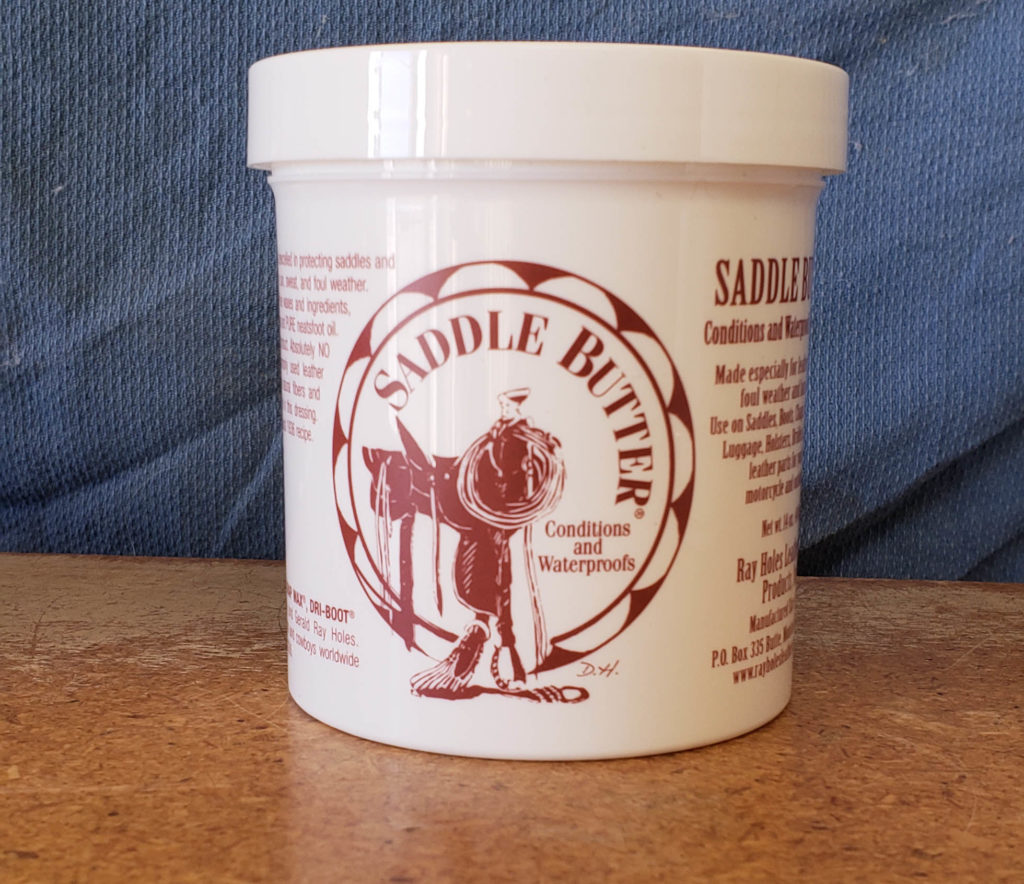 Photo of Tub of Saddle Butter Leather Conditioner
